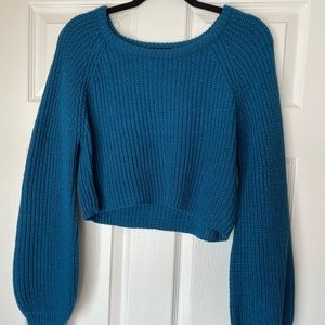 Favlux Crop Sweater